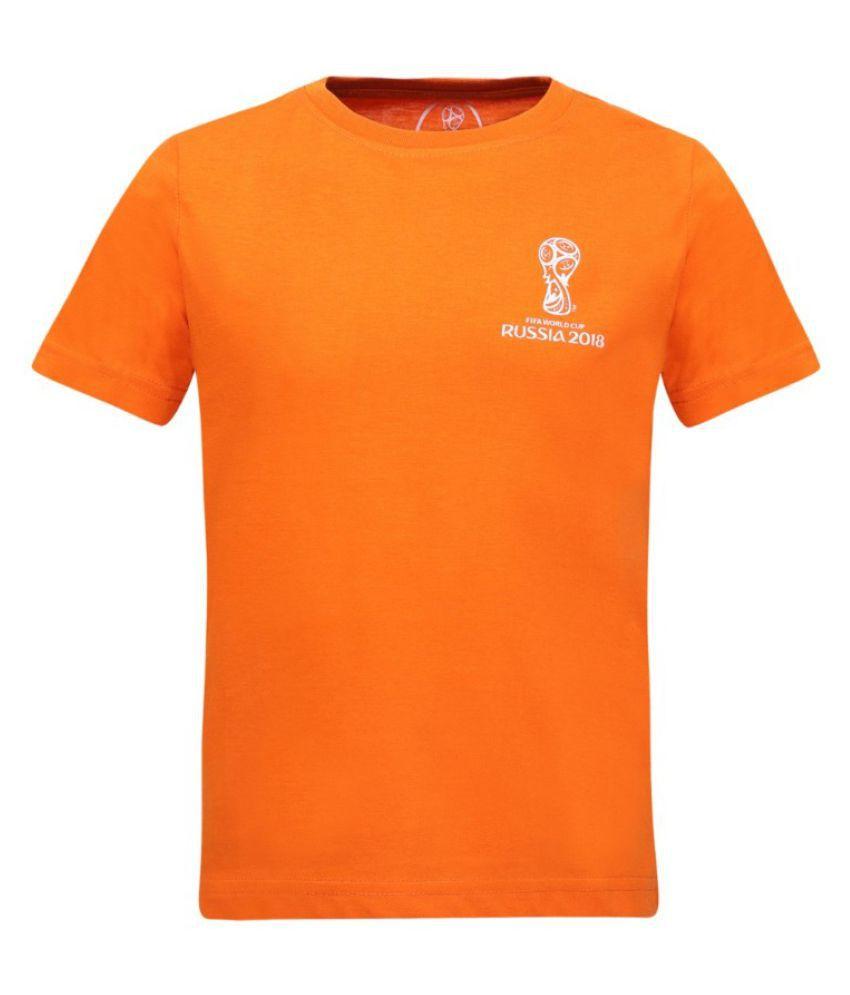 e54fb825 Alcis Girls Solid Orange Tee - Buy Alcis Girls Solid Orange Tee Online at  Low Price - Snapdeal