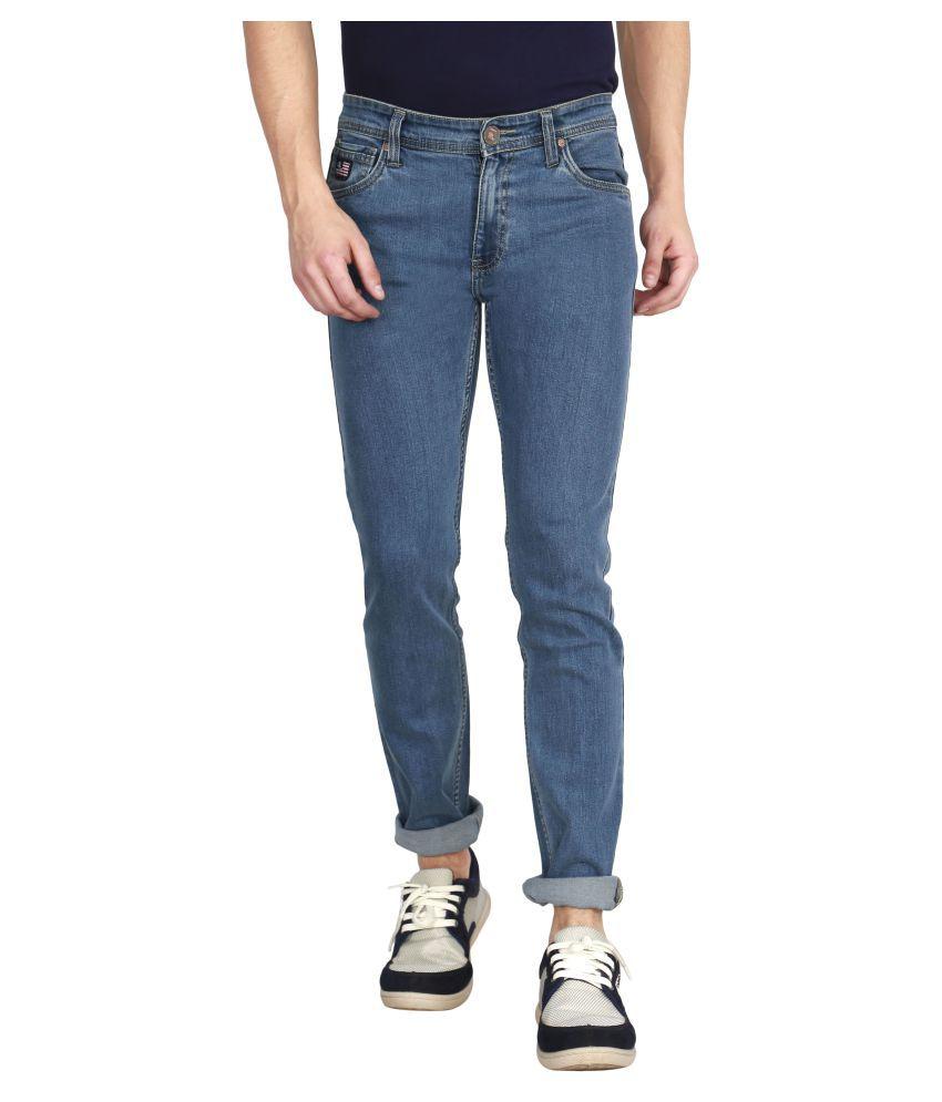 Raa Jeans Blue Slim Jeans