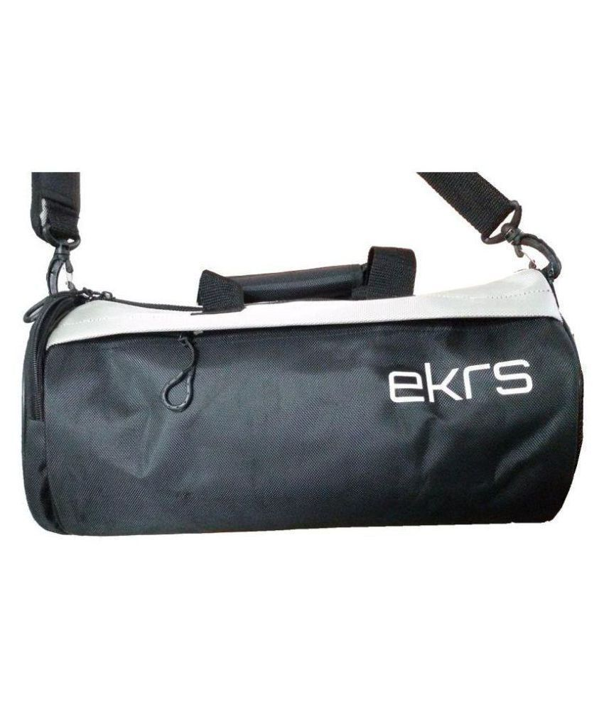 Ek Retail Medium Polyester Gym Bag For Men Women