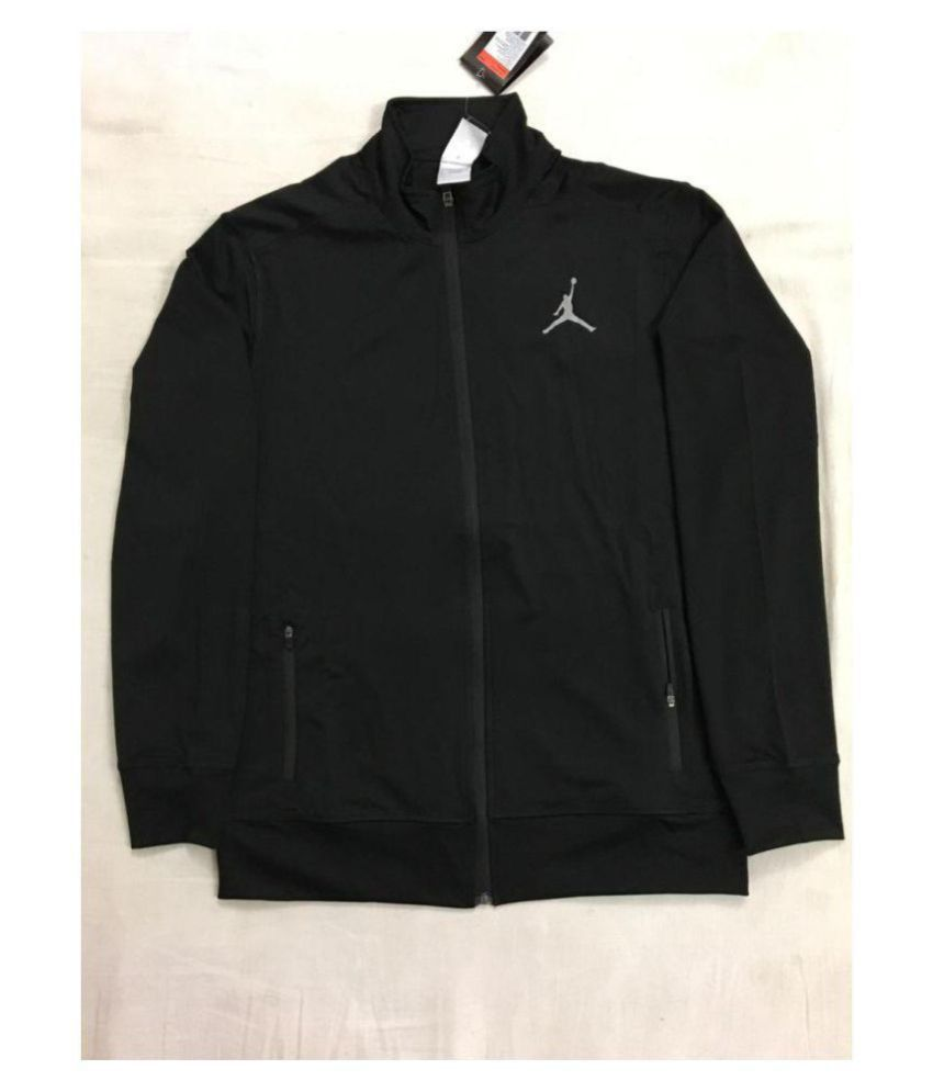 0c1acc9a3bed07 NIKE JORDAN Black Casual Jacket - Buy NIKE JORDAN Black Casual Jacket Online  at Best Prices in India on Snapdeal