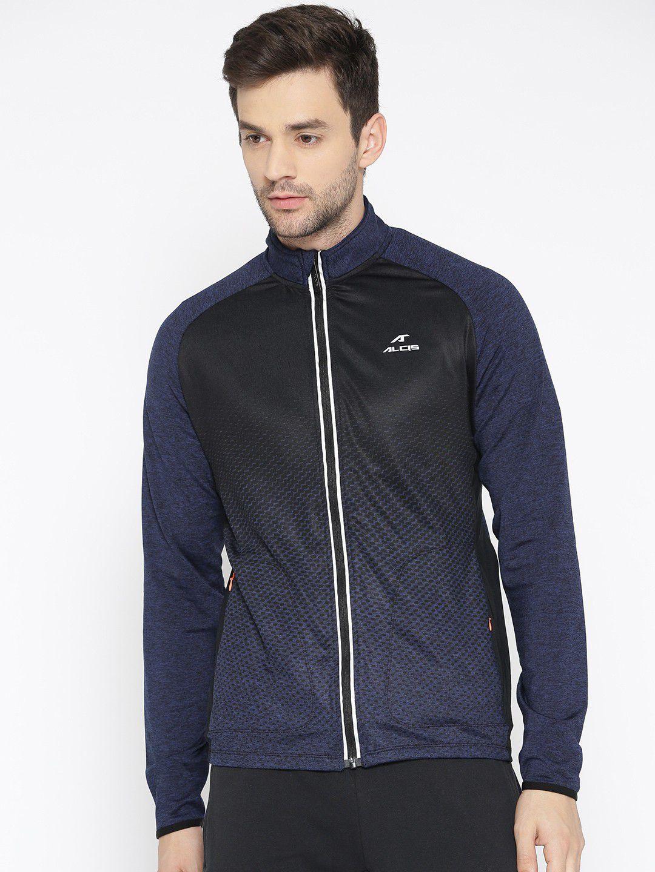 Alcis Navy Polyester Fleece Jacket Single Pack