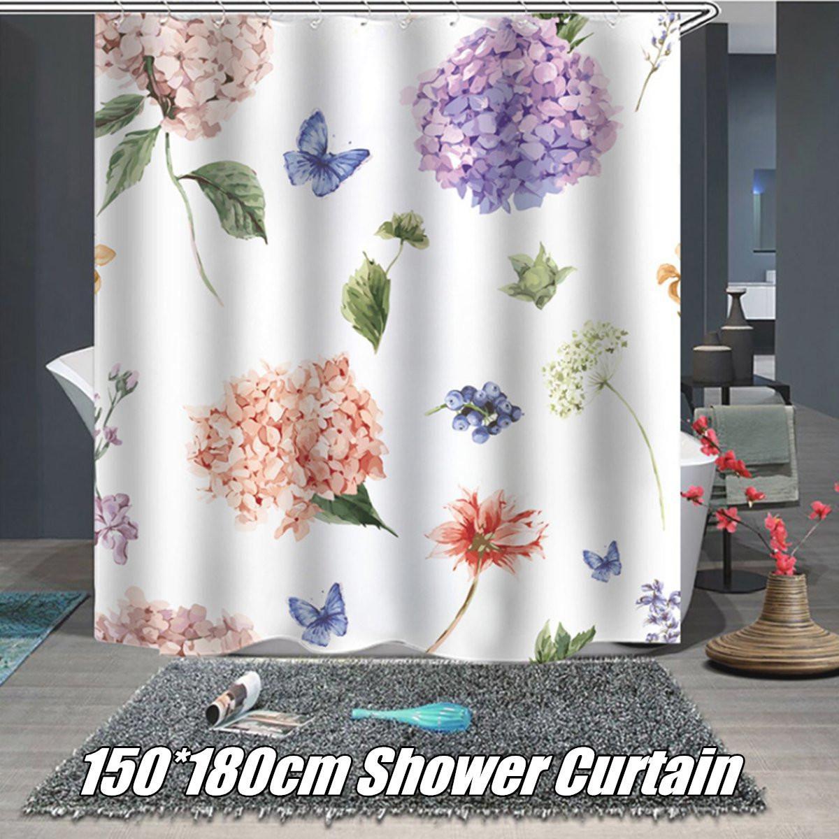 Buy 1 8x1 5m Waterproof Fabric Shower Curtain Bathroom Decor