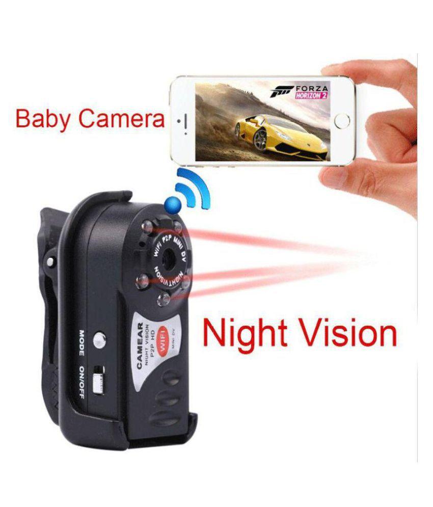 Ibs Q7 Mini WiFi DVR Wireless IP Hidden (640 x 480 (SD): 30p / 25p) MP Video Camera