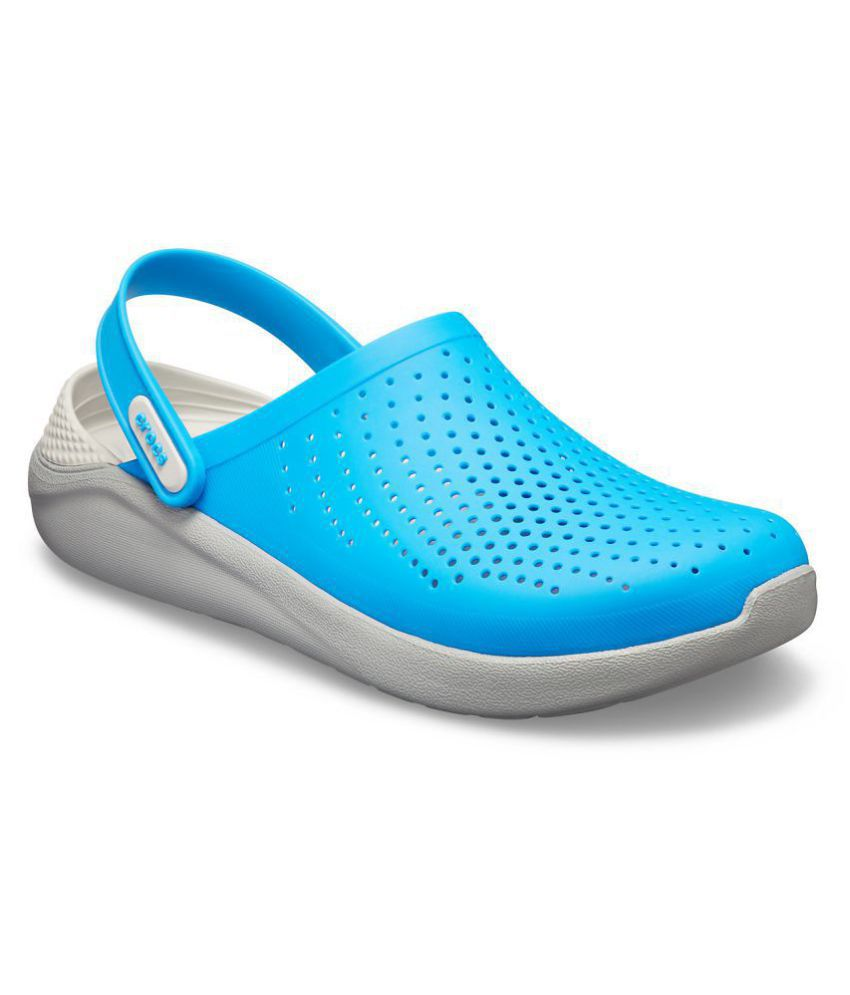 6bd128e2f Crocs Blue Croslite Floater Sandals - Buy Crocs Blue Croslite Floater  Sandals Online at Best Prices in India on Snapdeal
