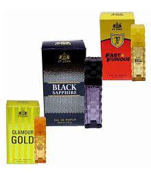 d8ebc7985df4 St.John Perfume Set 30ml - GLAMOUR GOLD, BLACK SAPPHIRE & FAST FURIOUS (  pack of 3)
