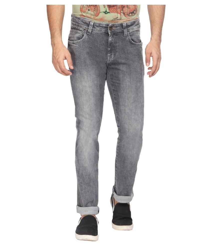 Wrangler Grey Slim Jeans