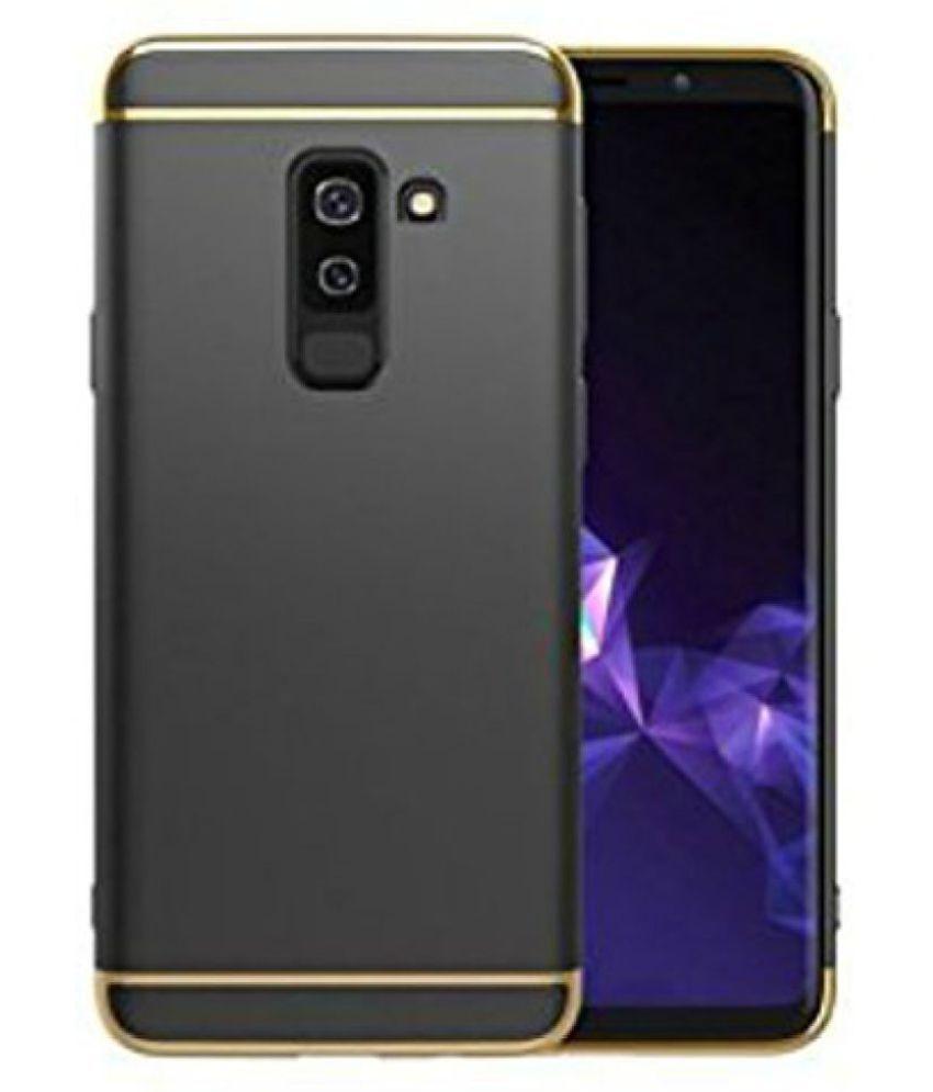 Samsung Galaxy J8 2018 Hybrid Covers KEP - Black