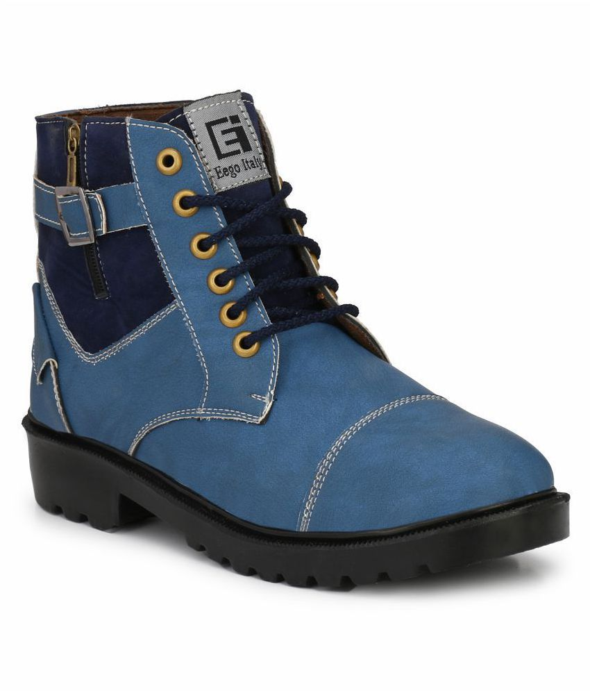 Eego Italy Blue Casual Boot