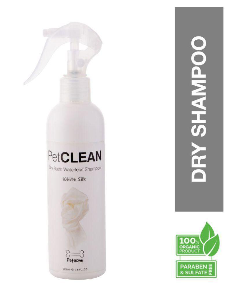 Petacom Peta Clean Dry Shampoo for Dogs White Silk