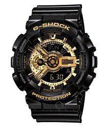 Shock Resistant G-110AA Resin Sports Watch for Boys
