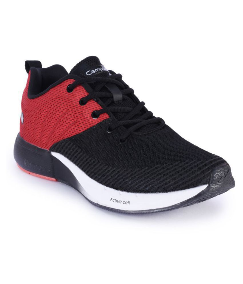 Campus Sneakers Black Casual Shoes