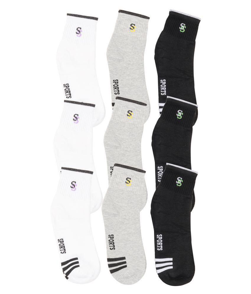 1cd248f41c1d DAM Multi Casual Ankle Length Socks: Buy Online at Low Price in India -  Snapdeal