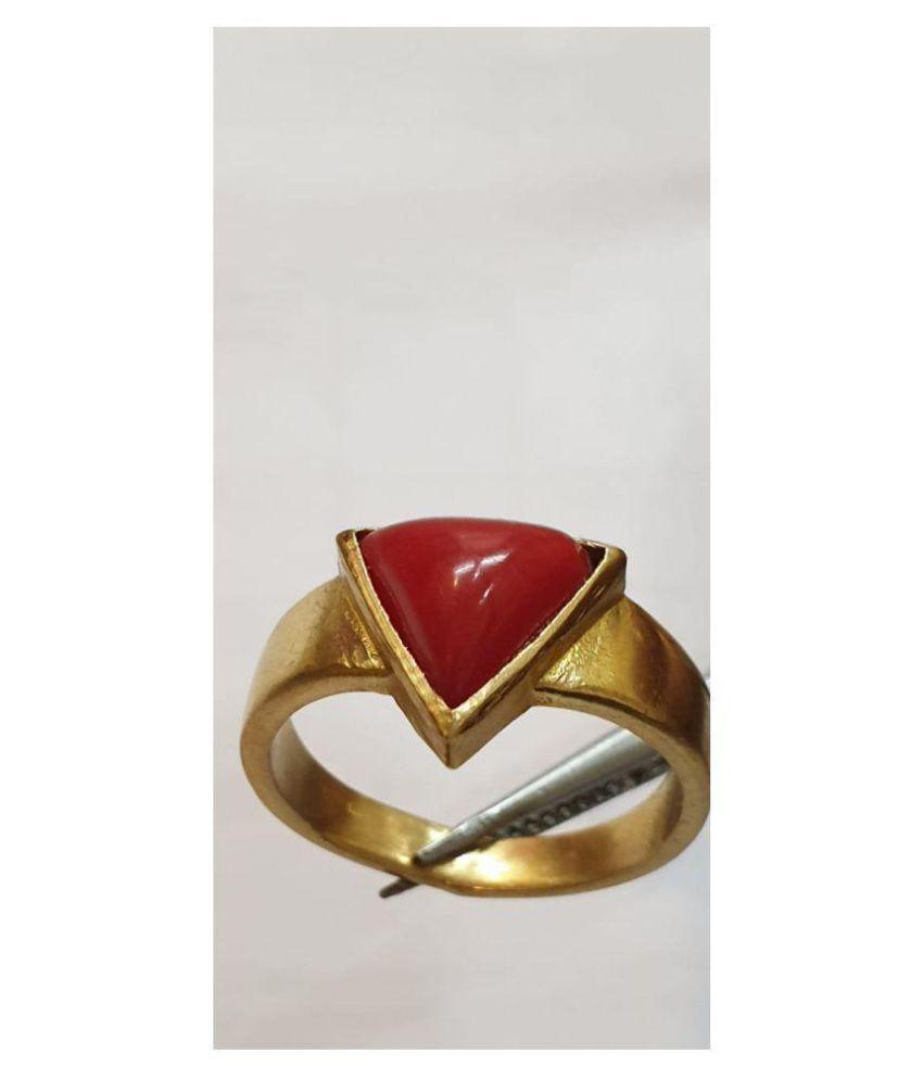 Jaipur Gemstone 9k Gold Ring