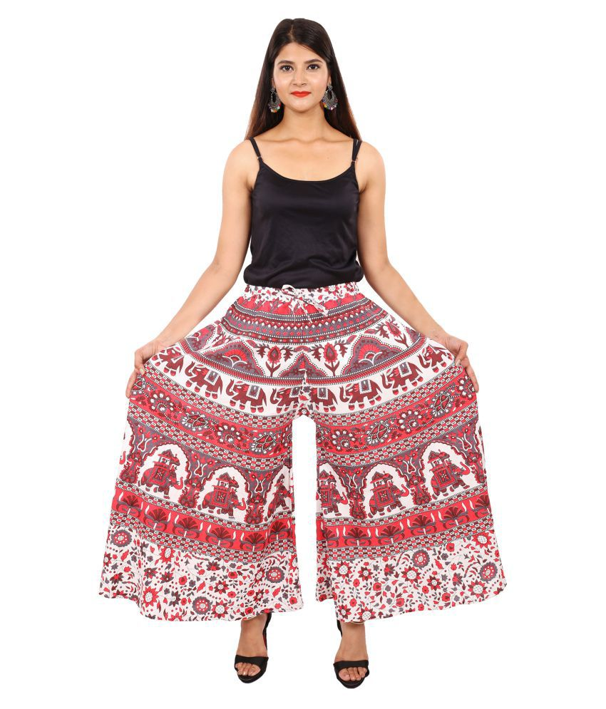 f9d1e6d4176b Buy Magnus Cotton Palazzos Online at Best Prices in India - Snapdeal