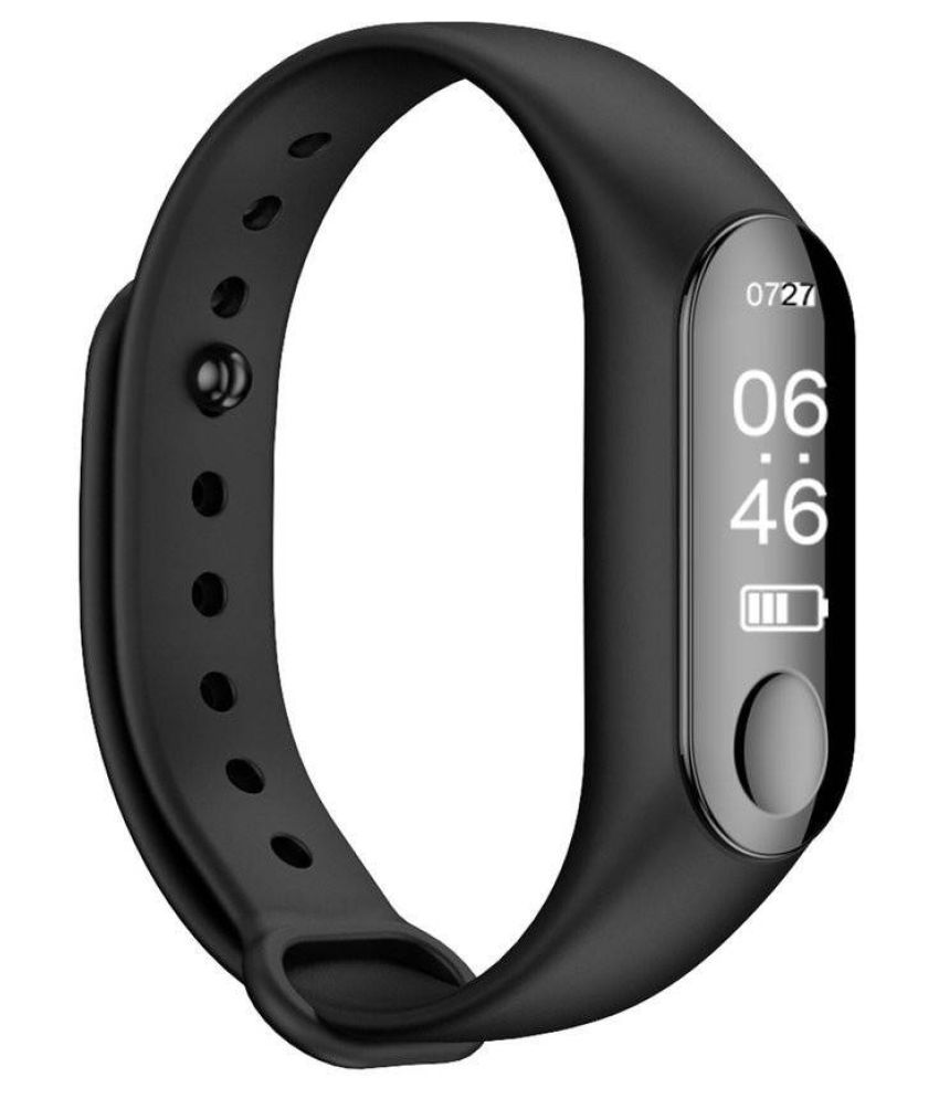 Fitness Band M3 Activity Tracker | Fitband with OLED Heart Rate Monitor