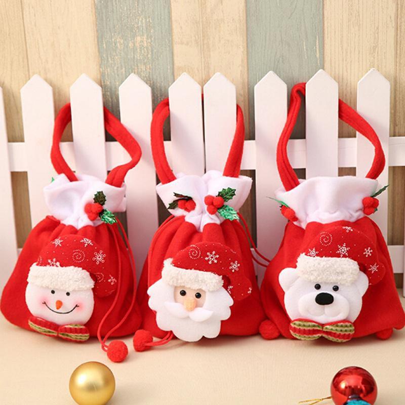 Christmas Gift Bags For Kids.Creative Christmas Gift Bag Kids Candy Gift Bags Handbag