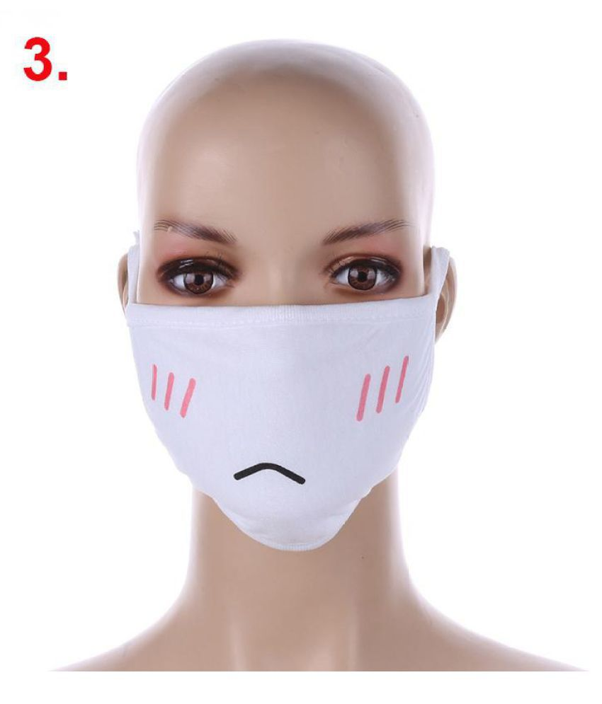Face Fashion Pc Anime Stuff Anti Cotton 1 Lovely Mask Expression
