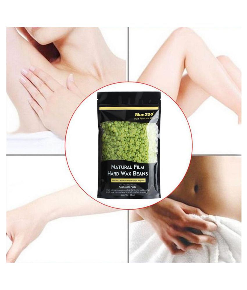 250g Depilatory Hard Wax Beans Painless Waxing Body Bikini