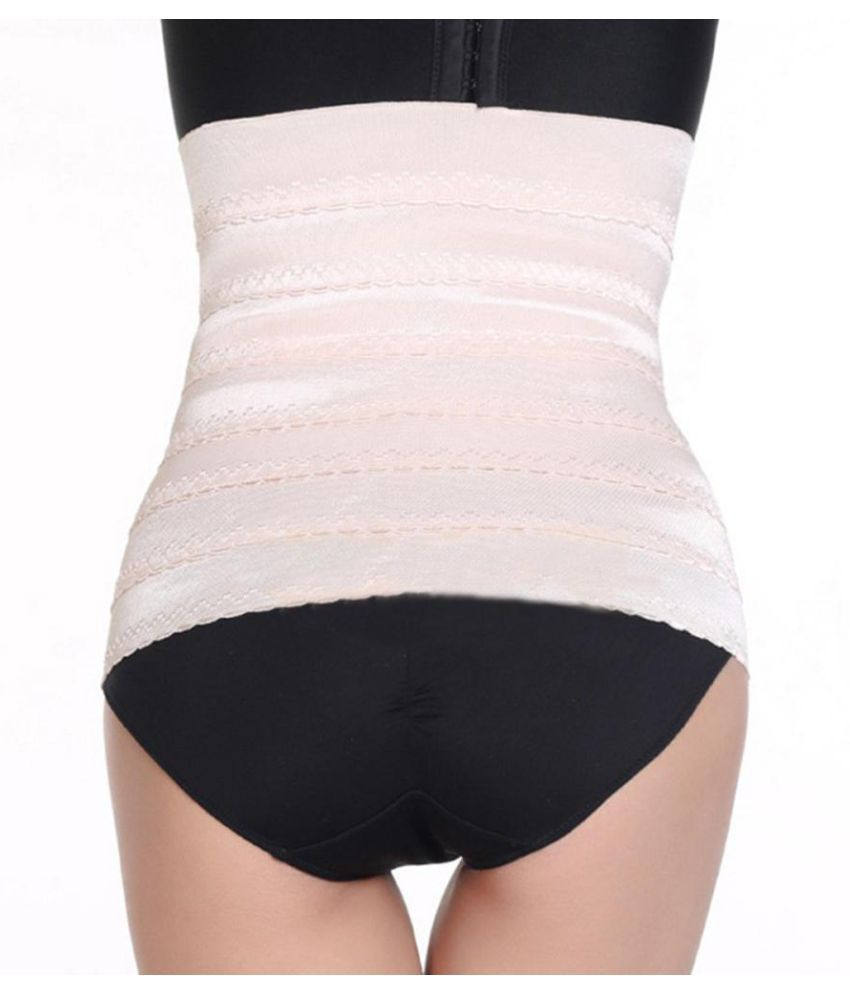 e21d365b2a8fe ... Women Waist Body Shaper Trimmer Slim Belt Belly Band Slimming Corset  Shapewear