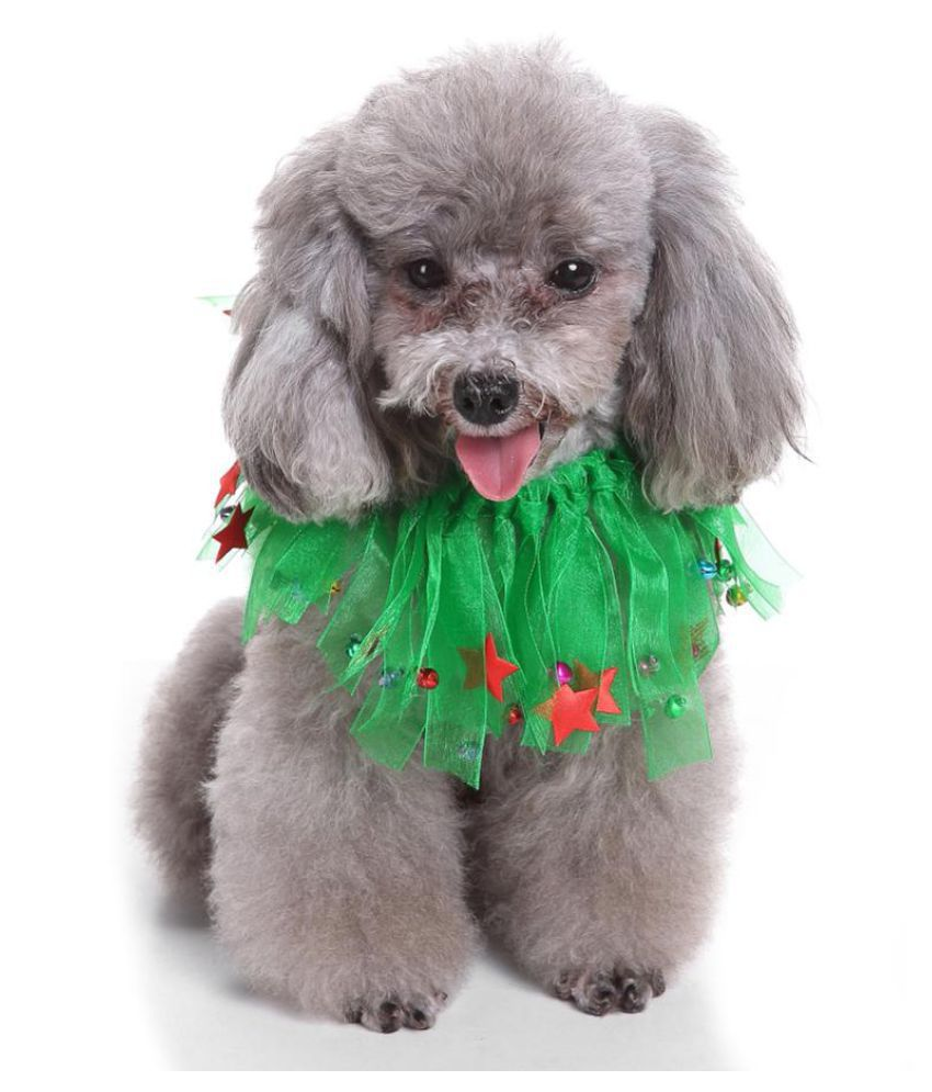 687f1473c28 Christmas Wreath Jingle Bell Decorative Cat Dog Collar Party Pet ...