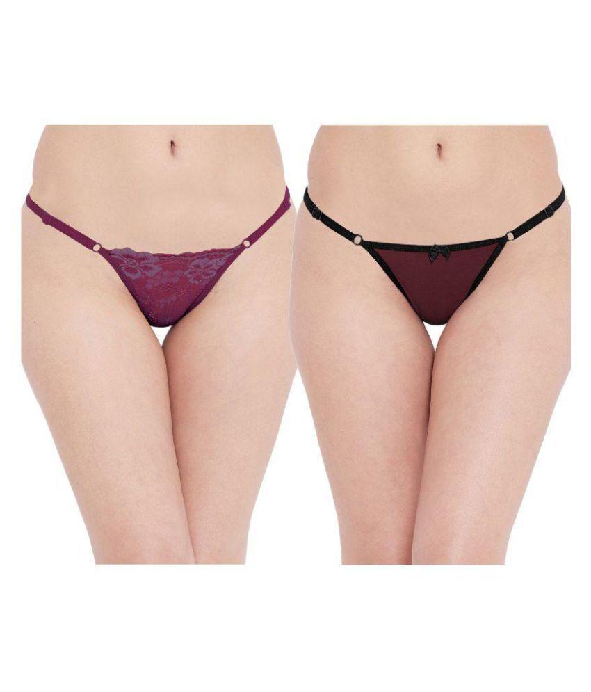 N-Gal Polyester Thongs