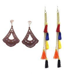 bef824546 Combo Type Earrings: Buy Combo Type Earrings Online at Low Prices on ...