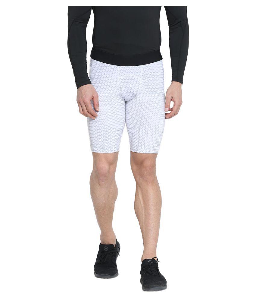CHKOKKO Sports Gym Workout Strechable Shorts for Men