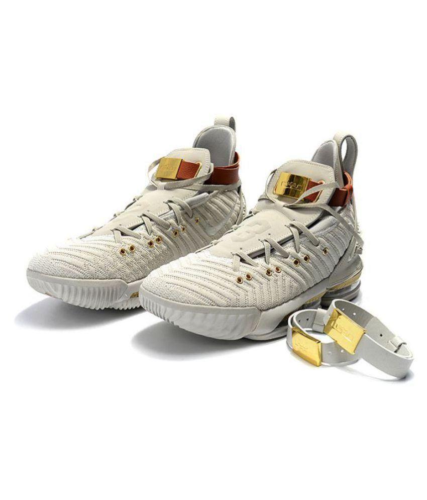 b9a22b0390a1 Nike LEBRON 16 HFR White Basketball Shoes - Buy Nike LEBRON 16 HFR ...