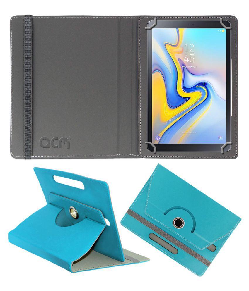 Samsung Galaxy Tab A 10.5 Inch (LTE) Flip Cover By ACM Blue