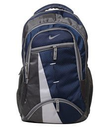 3cc42517fe36 Quick View. Nike Navy Blue Polyester College Bags Backpacks- ...