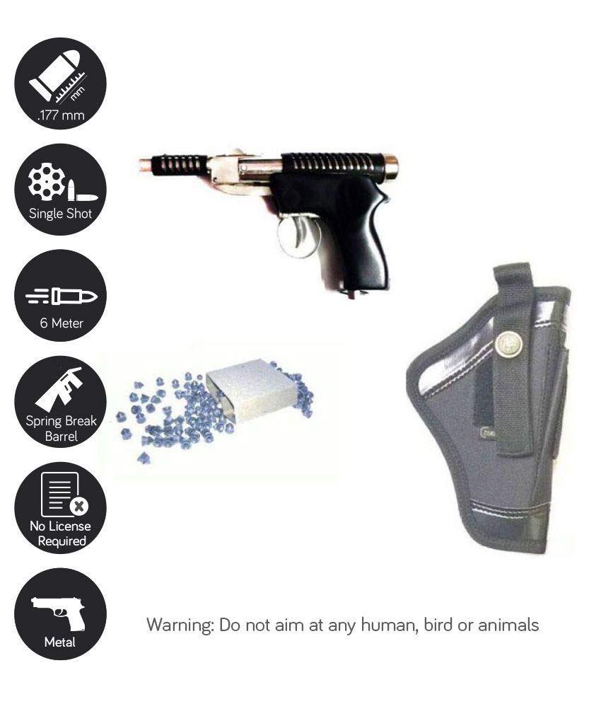 Prijam 007 Metal Gun for tar practice with 200 bullets Assorted