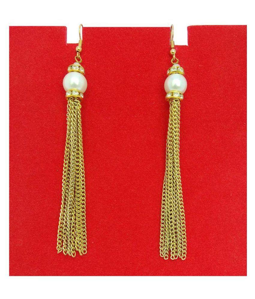 abhisu antique jewellery earring for women party