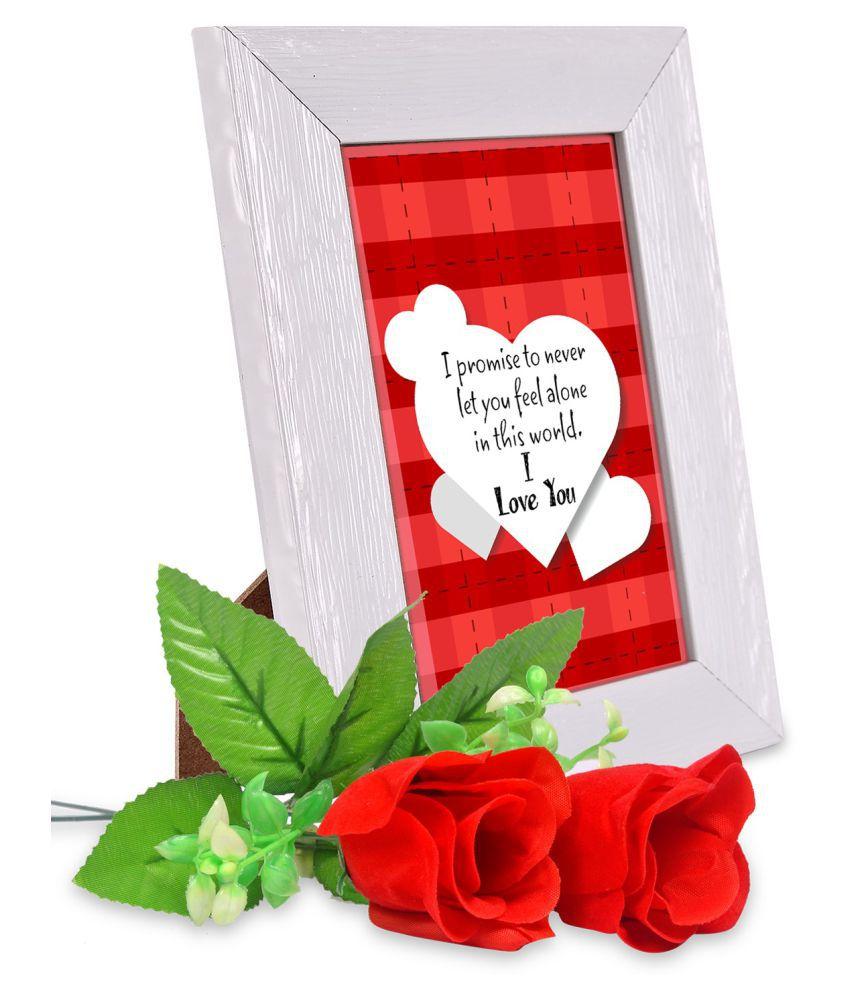AlwaysGift PVC Valentine Hamper Multicolour - Pack of 3