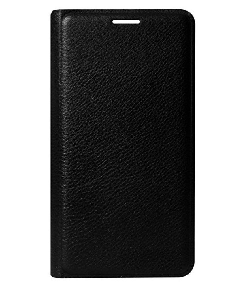 huge discount 8e53f 0baef Oppo Neo 5 Flip Cover by Shanice - Black leather flip cover - Flip ...