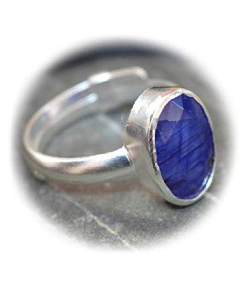 Jaipur Gemstone 92.5 Silver Ring