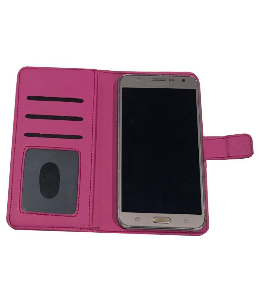 new arrivals 66275 b6b9a Mobiistar CQ Flip Cover by Zocardo - Pink