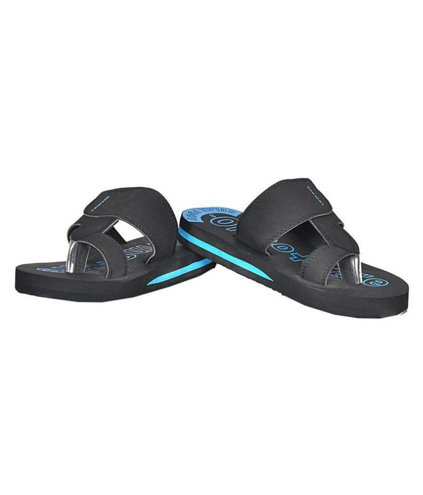 2cdabe04796 Orthocare Black Daily Slippers Price in India- Buy Orthocare Black ...
