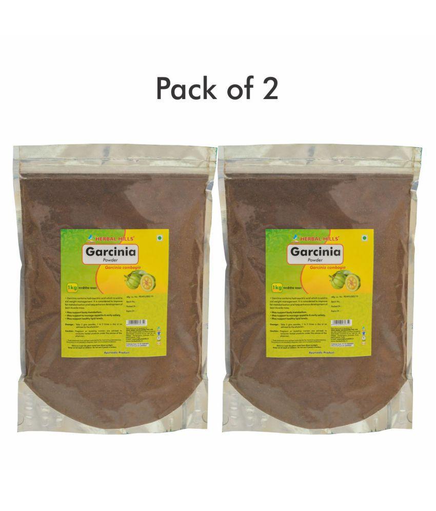 Herbal Hills Garcinia Powder 1 kg Pack Of 2
