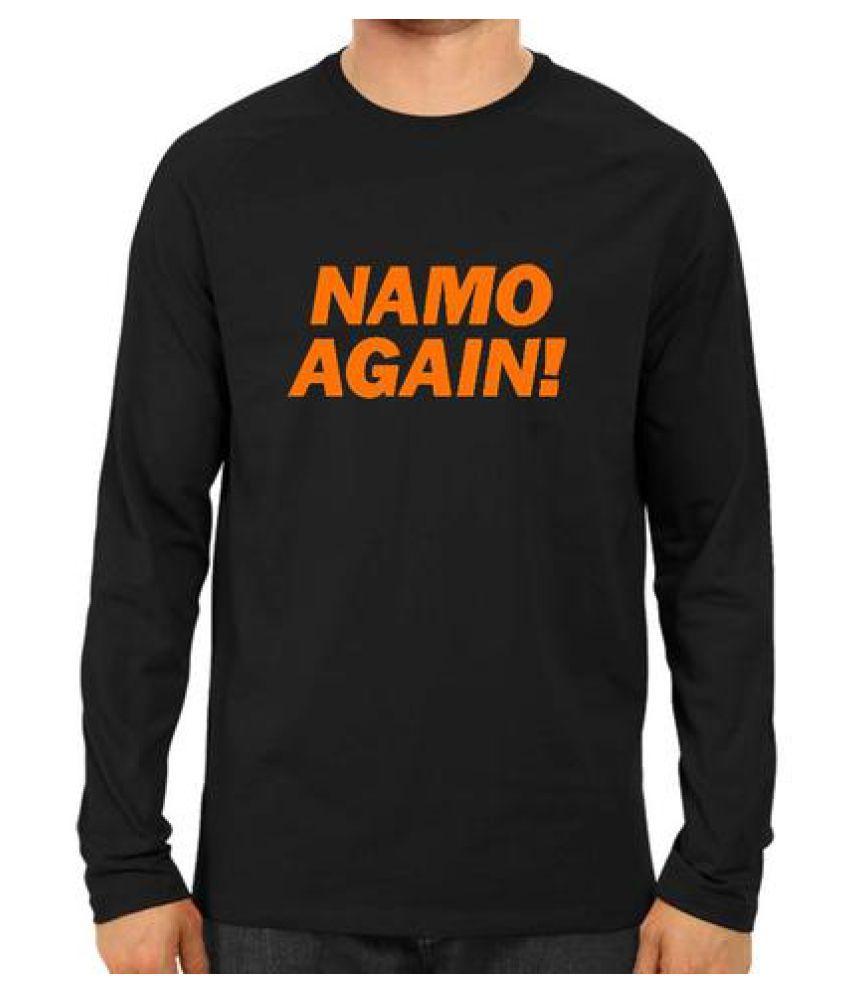 trendio store Black Cotton T-Shirt