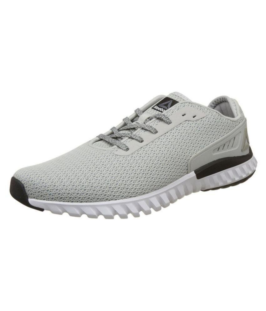 ffc97e52e2b0 Reebok Gray Running Shoes - Buy Reebok Gray Running Shoes Online at Best  Prices in India on Snapdeal