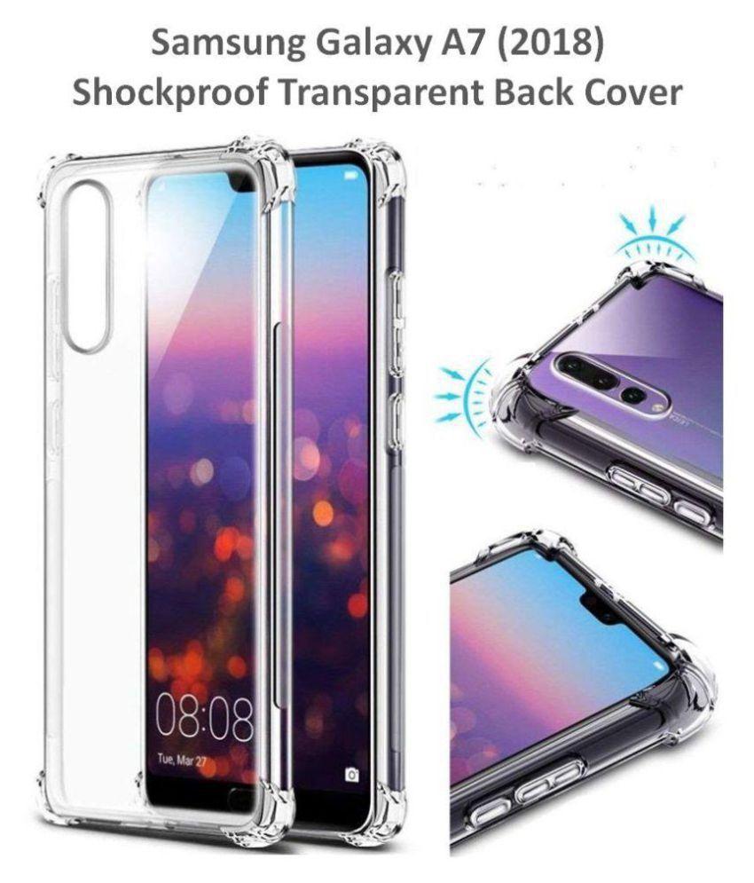 pretty nice 4f7e8 98738 Samsung Galaxy A7 2018 Bumper Cases BeingStylish - Transparent