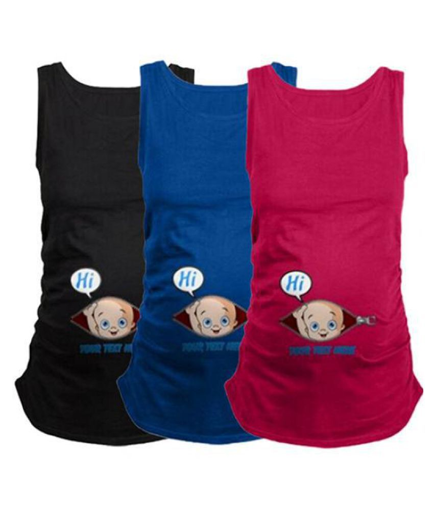 729621bac54 ... Vest Women's Summer Plus Size Pregnant Clothes Nursing Tank Top  Maternity Wear ...