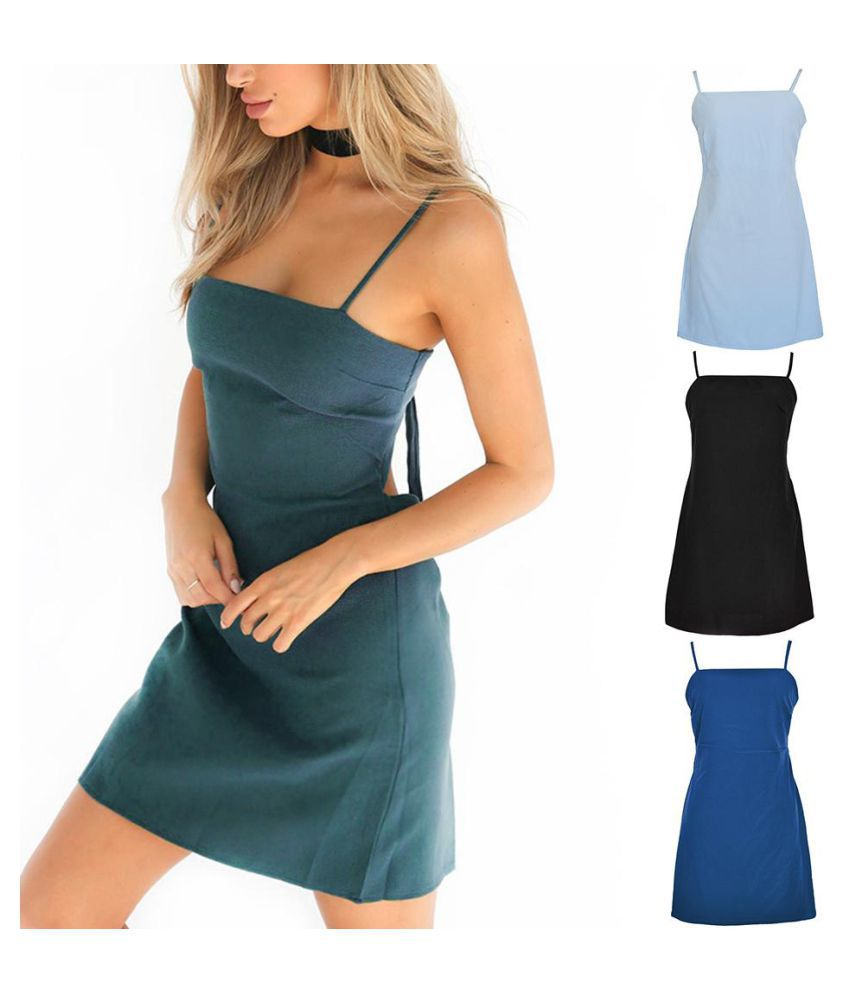 a214b3e204f ... Women Ladies Hot Sexy Bandage Beach Bodycon Evening Party Cocktail  Short Dress ...