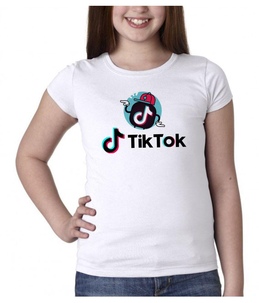 TIK TOK T SHIRT FOR GIRLS / KIDS