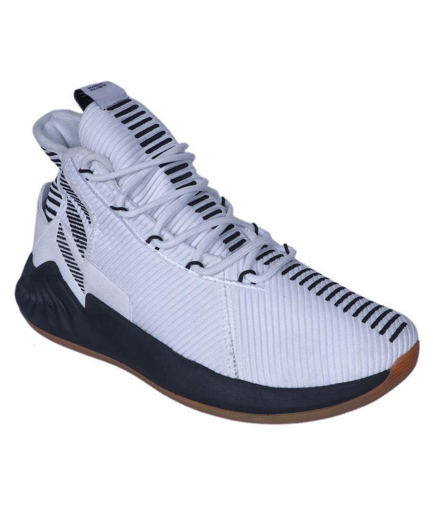 469ab12981b9 Adidas Adidas D ROSE 9 2018 LTD White Low ankle Male White  Buy ...