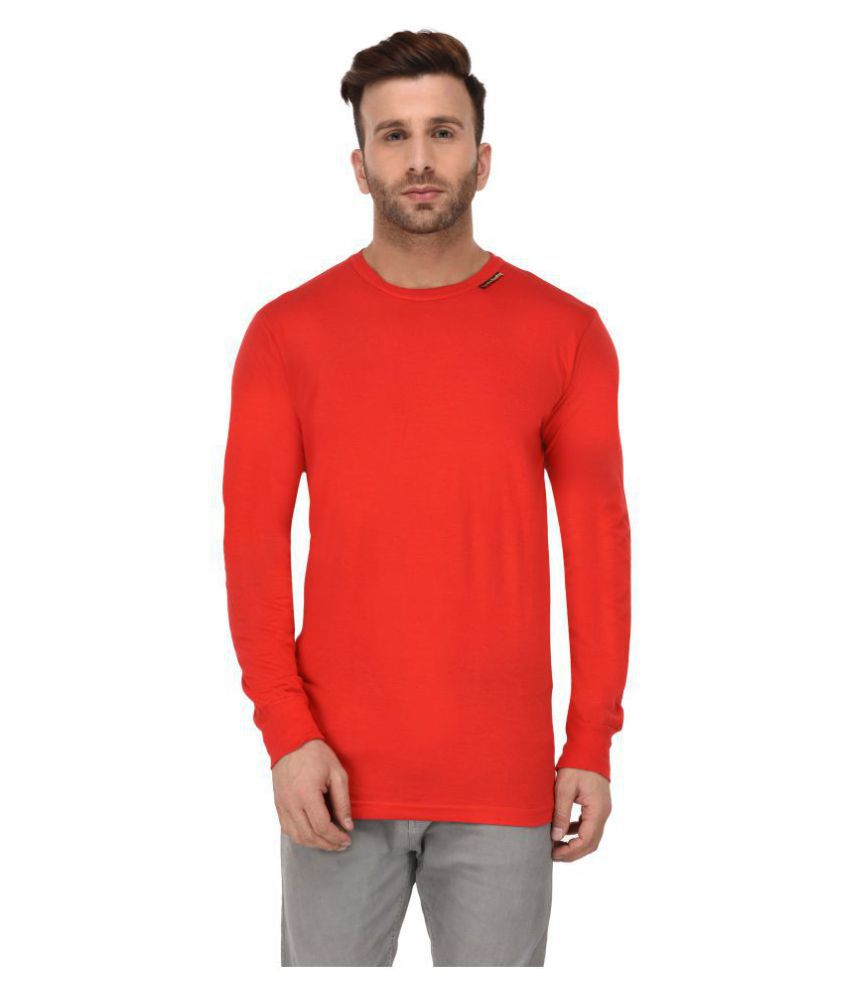 Grand Derby Red Full Sleeve T-Shirt Pack of 1