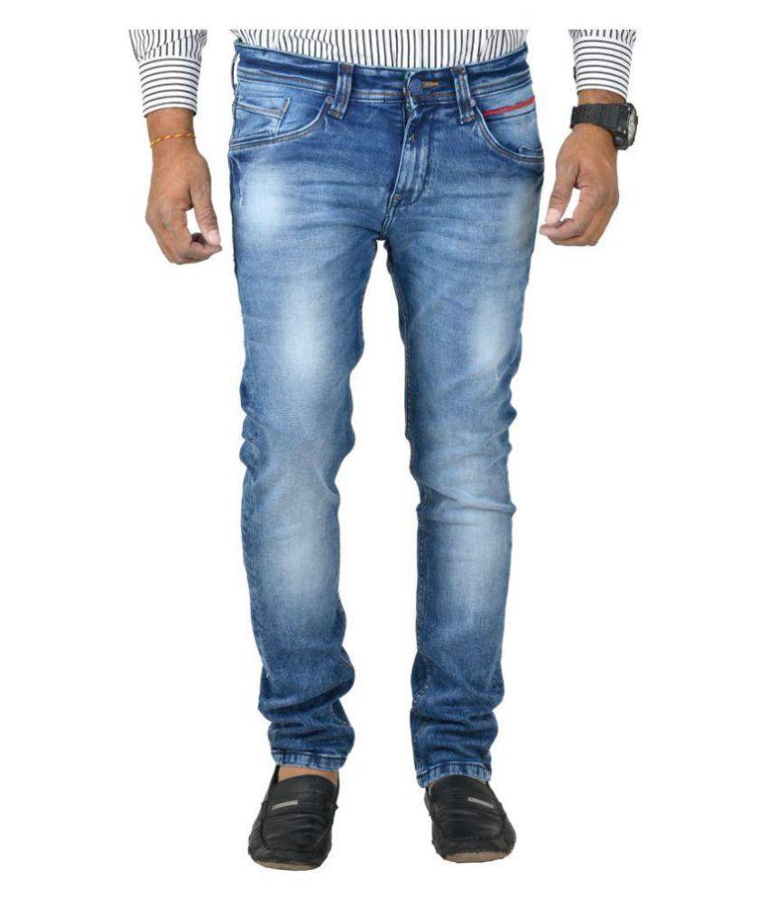 Orijean Dark Blue Skinny Jeans