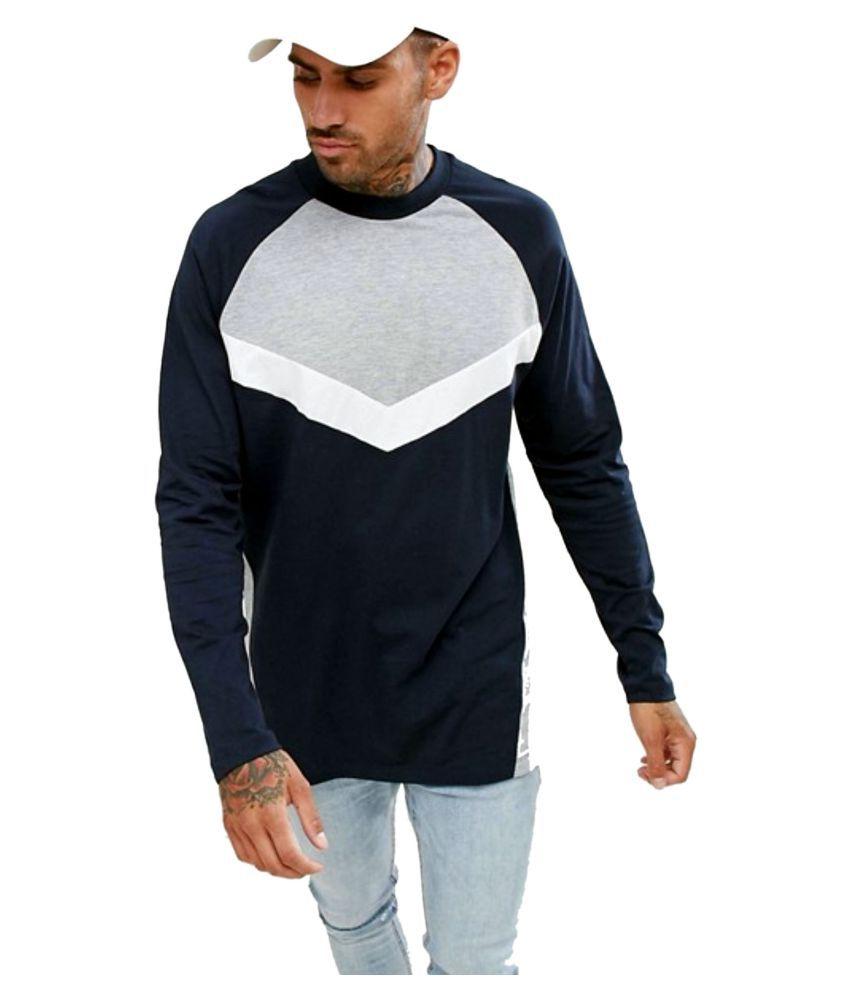 8c8036b85 PAUSE Multi Full Sleeve T-Shirt - Buy PAUSE Multi Full Sleeve T ...