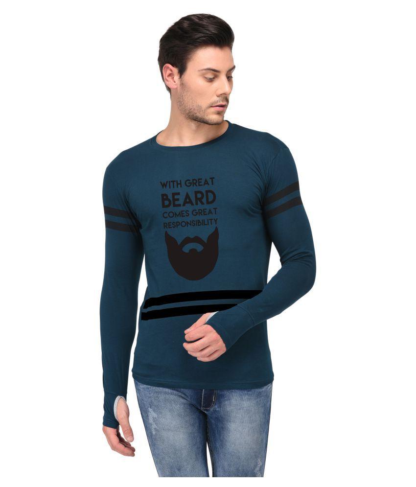 Trends Tower Green Full Sleeve T-Shirt