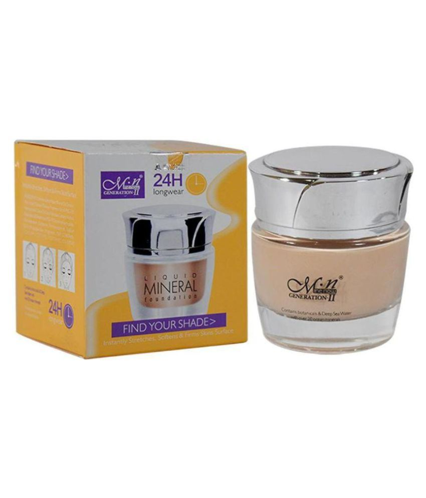 MN 24H Long wear Mineral Cream Foundation Beige g